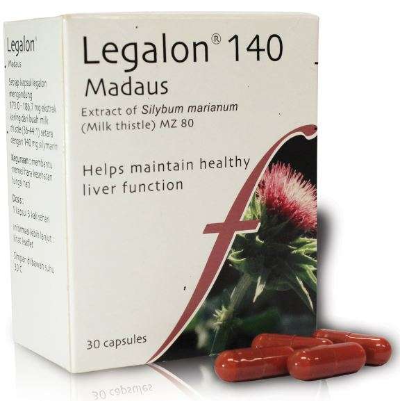 Legalon obat Liver herbal