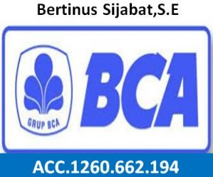 no rek bank BCA-sahuta.com