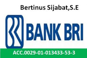 no rek bank BRI-sahuta.com